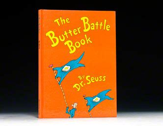 LibrisNotes: The Butter Battle Book by Dr Seuss